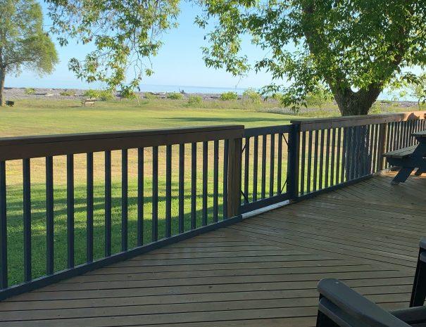 400 sq ft Deck