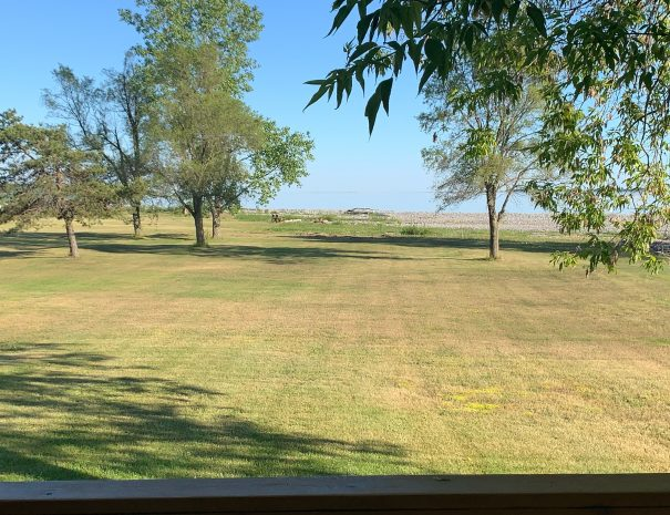 Front yard view from Deck